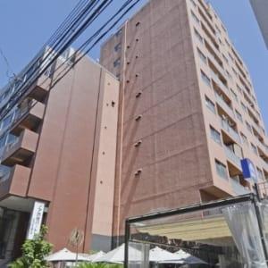 新規内装リフォーム 広々ウッドデッキバルコニー 7階の物件の為眺望 陽当たり 通風良好 商業施設が生活圏内 再開発著しい渋谷駅まで徒歩6分以内の物件です(外観)