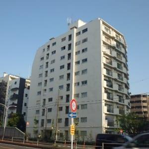 駅徒歩10分 2面バルコニー エレベーターあり(外観)