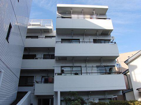 最上階角部屋陽当たり・眺望良好 新規内装リノベーション アフターサービス保証付き オール電化マンション(外観)