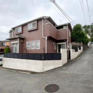 野村ホーム施工 大型2世帯住宅 ローン減税対象物件(外観)
