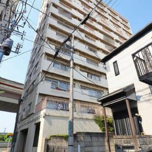 8階南向きにつき陽当り・眺望良好 宅配ボックス完備 アフターサービス保証付き (外観)