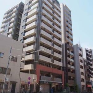 14階建ての13階部分 2面バルコニー 角住戸 住宅ローン減税適合物件(外観)