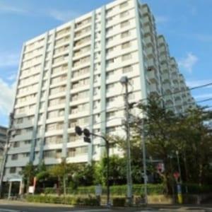 8階部分の西向き 宅配ボックス完備 安心のアフターサービス保証付き(外観)