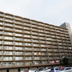 総戸数262戸のビッグコミュニティ 8階につき日当たり・眺望良好(外観)